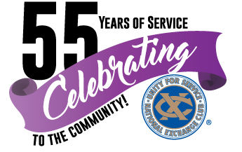 55 Years PNG Transparent Background